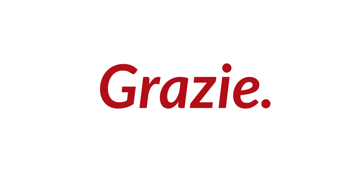 Diario editoriale #7: Grazie!
